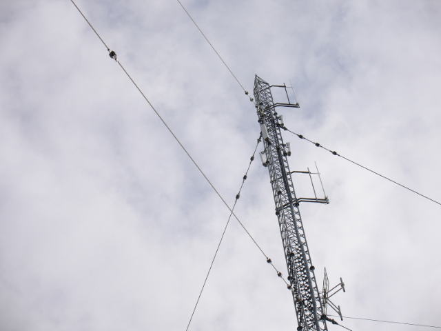 Ramme VOR, AIS, XXX and mobile phone antenna tower